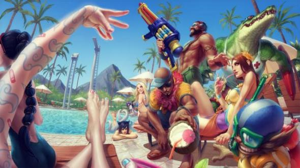 Pool Party Skins Are HERE!